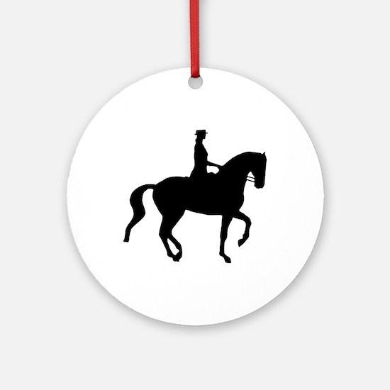 Piaffe Equestrian Ornament (Round)