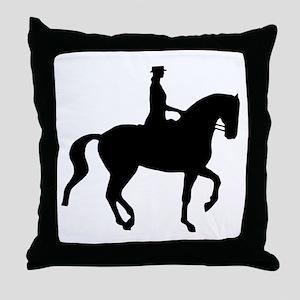 Piaffe Equestrian Throw Pillow