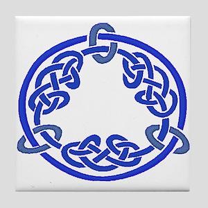 Celtic Knot 116 Tile Coaster