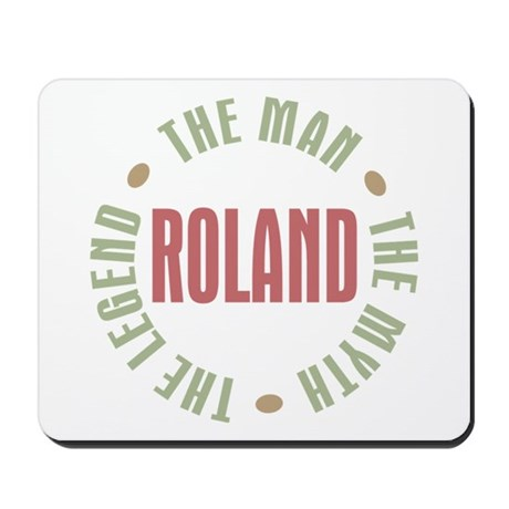 Roland Man Myth Legend Mousepad