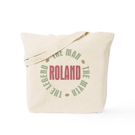 Roland Man Myth Legend Tote Bag