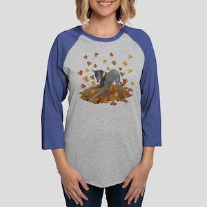 Playful Greyhound Long Sleeve T-Shirt