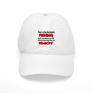Funny Fishing Sayings Hats - CafePress e79f5173237d