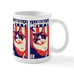 Obey the Kitty! USA Ragdoll Cat Coffee Mug