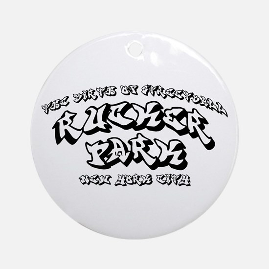 Rucker Park Ornament (Round)