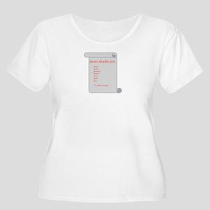 SDS - Women's Plus Size Scoop Neck T-Shirt