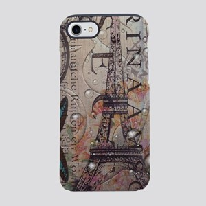vintage paris eiffel tower iPhone 8/7 Tough Case