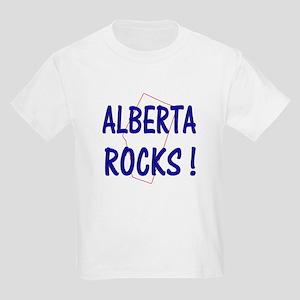 Alberta Rocks ! Kids T-Shirt