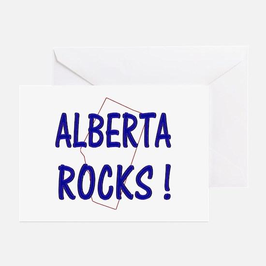 Alberta Rocks ! Greeting Cards (Pk of 10)