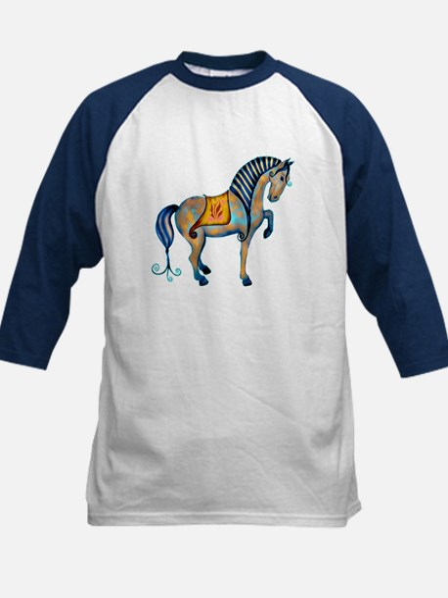 Tang Horse Two Kids Baseball Jersey