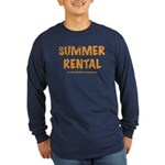 Summer Rental Long Sleeve Dark T-Shirt