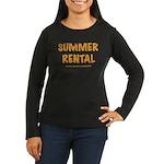 Summer Rental Women's Long Sleeve Dark T-Shirt