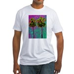 PalmArt Fitted T-Shirt