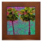 PalmArt Framed Tile