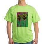 PalmArt Green T-Shirt