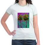PalmArt Jr. Ringer T-Shirt