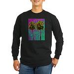 PalmArt Long Sleeve Dark T-Shirt
