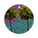 PalmArt Ornament (Round)