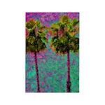 PalmArt Rectangle Magnet (100 pack)