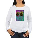 PalmArt Women's Long Sleeve T-Shirt