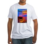 Stairway to Where? Fitted T-Shirt