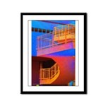 Stairway to Where? Framed Panel Print