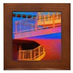 Stairway to Where? Framed Tile