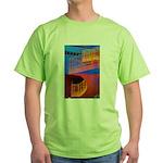 Stairway to Where? Green T-Shirt