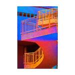 Stairway to Where? Mini Poster Print