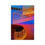 Stairway to Where? Rectangle Magnet (100 pack)