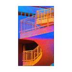 Stairway to Where? Rectangle Sticker 10 pk)