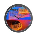 Stairway to Where? Wall Clock