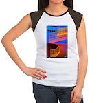 Stairway to Where? Women's Cap Sleeve T-Shirt