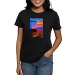 Stairway to Where? Women's Dark T-Shirt