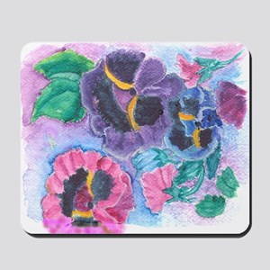 PANSY GARDEN Mousepad