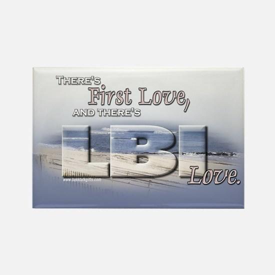 LBI Love... Rectangle Magnet