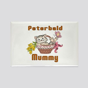Peterbald Cats Mummy Rectangle Magnet