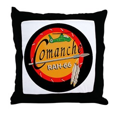 U.S. Army Comanche Throw Pillow