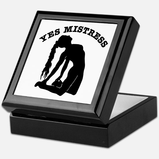 Yes Mistress #0066 Keepsake Box