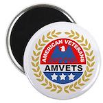 American Veterans for Vets Magnet