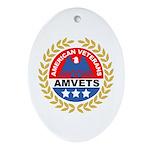 American Veterans for Vets Keepsake (Oval)