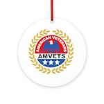 American Veterans for Vets Keepsake (Round)