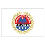 American Veterans for Vets Large Poster