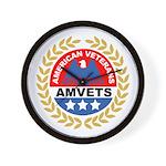 American Veterans for Vets Wall Clock