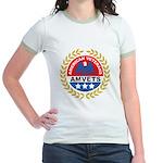 American Veterans for Vets (Front) Jr. Ringer T-Sh