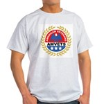 American Veterans for Vets (Front) Ash Grey T-Shir