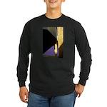 Form v. Color Long Sleeve Dark T-Shirt