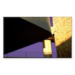 Form v. Color Rectangle Sticker 10 pk)