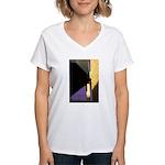 Form v. Color Women's V-Neck T-Shirt