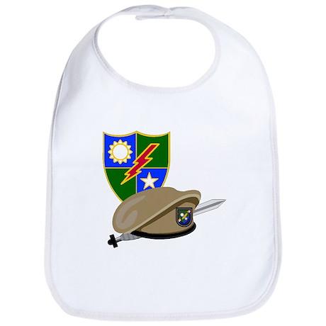 Army Ranger Beret Dagger Bib